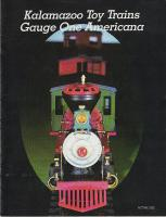 Kalamazoo Toy Trains Katalog (Catalogue) 1985