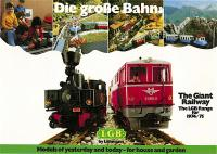 LGB Katalog (Catalogue) 1974-75 (English)