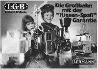 LGB Katalog (Catalogue) 1971-72 (Deutsch/German)