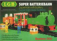 LGB System 300 Super-Batteriebahn (Supertrain with battery)