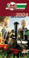 LGB Toy Train US Faltblatt (Brochure) 2004
