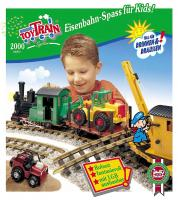 Lehmann Toy Train Katalog (Catalogue) 2000