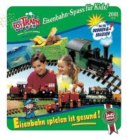 Lehmann Toy Train Katalog (Catalogue) 2001