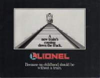 Lionel Large Scale Katalog (Catalogue) 1987