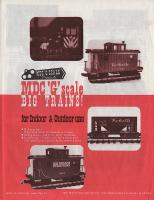 MDC - Model Die Casting Katalog (Catalogue) 1989