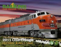 MTH One Gauge Katalog (Catalogue) 2011