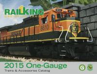 MTH One Gauge Katalog (Catalogue) 2015