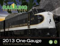 MTH One Gauge Katalog (Catalogue) 2013