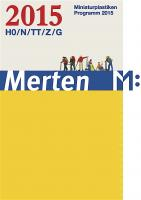 Merten Miniaturplastiken Katalog (Catalogue) 2015