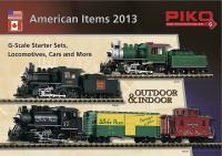 Piko Katalog (Catalogue) 2013 American Items