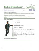 Prehm Miniaturen Program (All Items) 2013