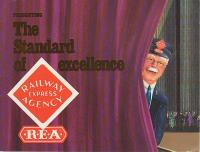 REA - Railway Express Agency Katalog (Catalogue) 1989