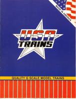 USA Trains Katalog (Catalogue) 1989