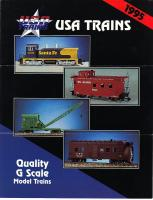 USA Trains Broschüre (Flyer) 1995