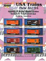 USA Trains Neuheiten (New Items) 1994
