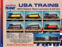 USA Trains Neuheiten (New Items) 1997