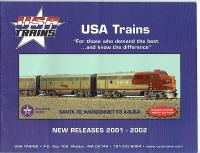 USA Trains Neuheiten (New Items) 2001-2002