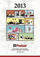 Preiser Neuheiten (New Items) 2013