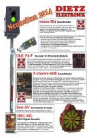 Dietz Neuheiten (New Items) 2014