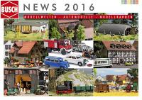 Busch Neuheiten (New Items) 2016