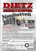 Dietz Neuheiten (New Items) 2019