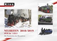 Kiss Neuheiten Katalog (New Items Catalog) 2018/2019