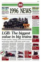 LGB Neuheiten (New Items) 1996 (for USA)