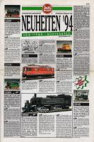 LGB Neuheiten (New Items) 1994