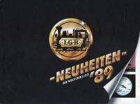 LGB Neuheiten (New Items) 1989