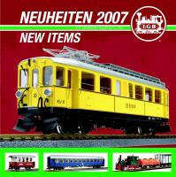 LGB Neuheiten (New Items) 2007