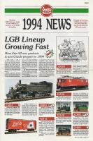 LGB Neuheiten (New Items) 1994 (for USA)