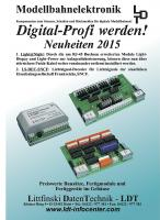 LDT - Littfinski Daten Technik Neuheiten (New Items) 2015