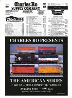 USA Trains - Neuheiten (New items) 1987 - Charles Ro Box cars