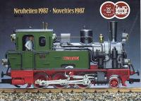 LGB Neuheiten (New Items) 1987