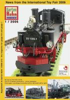 GartenBahn Magazin Messebeilage (Nürnberg Fair brochure) 2006 (English)