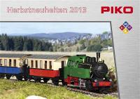 Piko Neuheiten (New Items) 2013 Herbst/Autumn