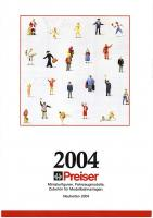 Preiser Neuheiten (New Items) 2004