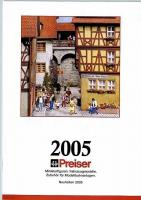Preiser Neuheiten (New Items) 2005