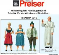 Preiser Neuheiten (New Items) 2016