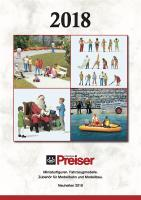 Preiser Neuheiten (New Items) 2018