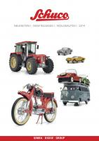Schuco Neuheiten Katalog (New Items Catalogue) 2014