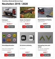 Bertram Heyn Neuheiten (New Items) 2019 / 2020 (Deutsch/German)