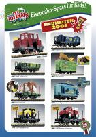 Lehmann Toy Train Neuheiten (New Items) 2001