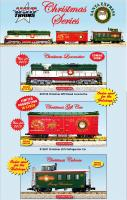 USA Trains Neuheiten - Weihnachtsprodukte (New Items - Christmas rolling stock ) 2013