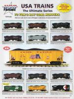 USA Trains Neuheiten - Schüttgutwagen (New Items - Hoppers) 2016