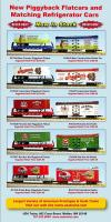 USA Trains Neuheiten - Flachwagen (New Items - Flat cars) 2013