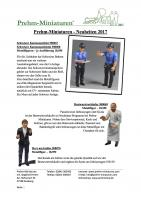 Prehm Miniaturen Neuheiten (New Items) 2017