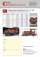 KMS 2017 Preisliste - RhB Traktor Tm 2/2 (Pricelist - RhB Switcher TM 2/2)