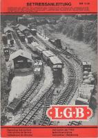 LGB Betriebsanleitung (Operating Instructions) 1977