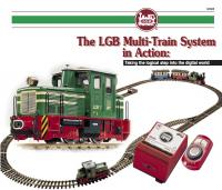 LGB Broschüre (Flyer) 2000 - The LGB Multi-Train System in Action, English